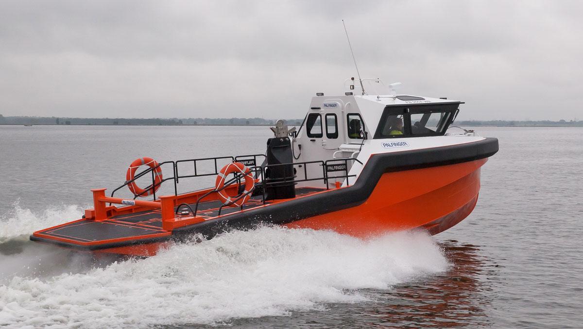 Palfinger pb 950a for Fast fishing boats