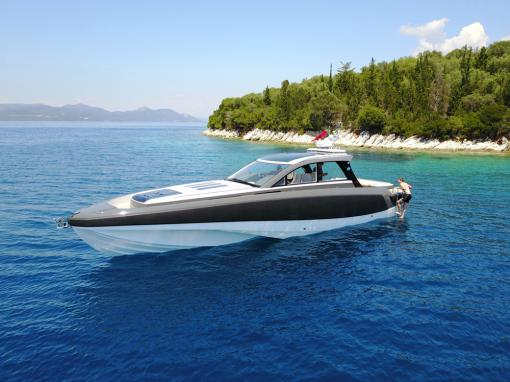 Custom made fender system for super yacht tender BR45 GT buy  Ice Marine.