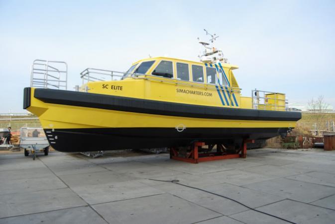 Tailor made fender system for Sima Charters workboat SC Elite