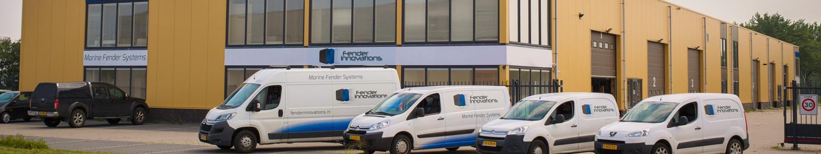 Fender Innovations -gepatenteerde fendersystemen