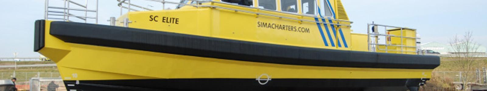 Workboat fenders Sima Charter SC Elite