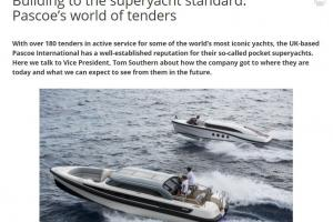 Article Pascoe Int. in Super Yacht Times