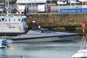 L3Harris/Royal Navy - Autonomous vessel 'Madfox'