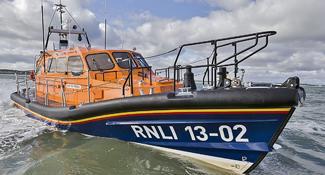 Maatwerk fenders voor de Shannon Class reddingsboot van RNLI