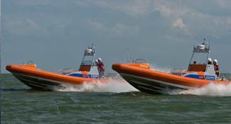 Habbeke Shipyard - KNRM 9m rescue vessel