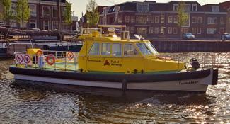 Customized fenders for Antwerp-Havendienst, by Dijkstra Metaalbewerking, Harlingen