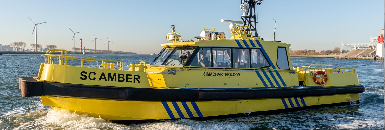 windfarm support  - Sima Charters - SC Amber